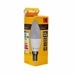 Kodak Led Bulb Candle C37 E14 6W - Warm Glow