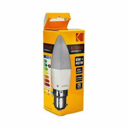 Kodak Led Bulb Candle C37 B22 6W - Daylight