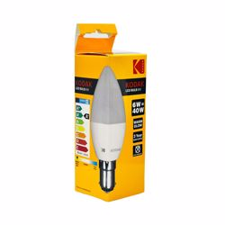 Kodak Led Bulb Candle C37 B15 6W - Warm Glow