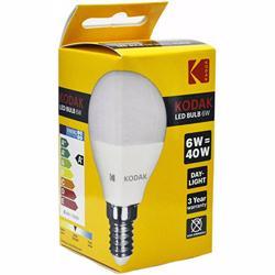 Kodak Led Bulb Golf G45 E14 6W - Daylight