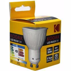 Kodak Led Bulb Spot Gu10 3W - Daylight