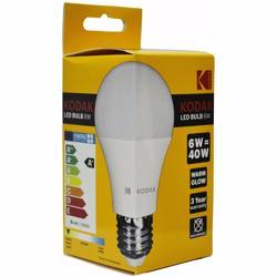 Kodak Led Bulbs Globe A60 E27 6W - Daylight