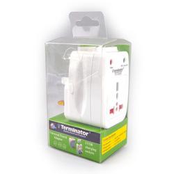 Terminator Travel Adaptor With 2 USB 2A