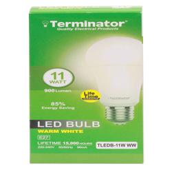 Terminator LED Bulb 11W Warm White E27