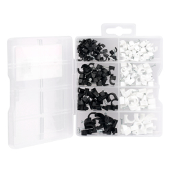Power Safe Cable Clips Mixed size 134Pcs preview
