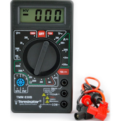 Terminator Multi Meter Digital (AC/DC Voltage DC Current Resistance & Diode Test)