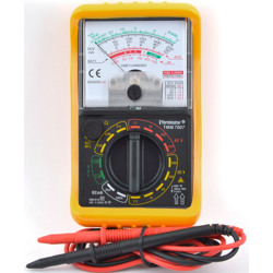 Terminator Multi Meter Analogue 500V AC/DC DC Current Resistance Decibel -10 to 56dB & Battery Test 1.5V 9V
