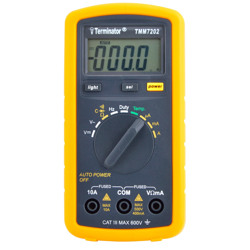 Terminator Multi Meter Digital Auto AC/DC V AC/DC Current Resistance Temp Frequency Capacitance & Diode Test