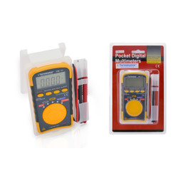 Terminator Multi Meter Digital Pocket Size (AC/DC 500V Resistance Capacitance Buzzer and Frequency)