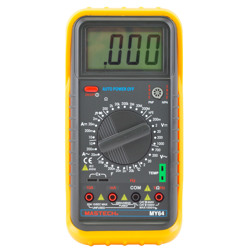 Mastech Multi Meter Digital Auto Function Temp Frequency & Capacitance Resistance Transistor hFE Diode