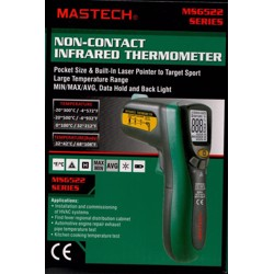 Mastech Digital Thermometer (-20-500C) (Replacement Model for MS 6520B)