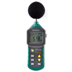 Mastech Digital Sound Level Meter (30dB to 130dB RS-232 Clink and US Interface)