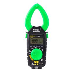 Meet 400A AC/DC TRMS Pocket Clamp Meter With NCV-NCF-SPT-Hz-Capacitance