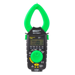 Meet 6000 Count 1000A AC/DC Slim Pocket Clamp Meter With Temp Hz NCV SPT & NCF Features