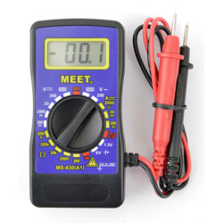 Meet Mini Digital Multimeter With 500V Range