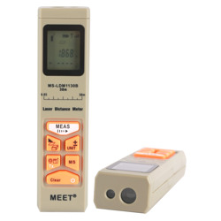 Meet Pocket Size Digital Distance Meter-30M With Pocket Clip