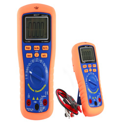 Meet Wireless Connectivity Palm Size TRMS & 6000 Count Digital Multi Meter Detector With Frequency &Temp
