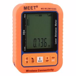 Meet Wireless Connectivity Digital Distance Meter-30M