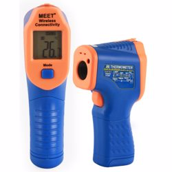 Meet Wireless Connectivity Compact Size Digital Thermometer With K Type Temp (-50 to 600c)