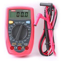 Uni-T Multi Meter Palm Size Digital Resistance 200M and Square Output