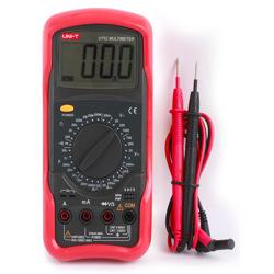 Uni-T Standard Digital Multimeter (Capacitance Resistance Transistor Diode and Continuity)