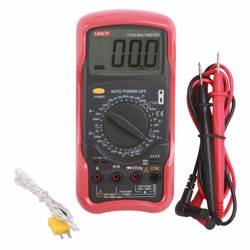 Uni-T Digital Multi Meter Capacitance Frequency Temp Resistance Transistor Diode and Continuity Buzzer