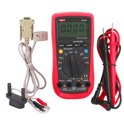 Uni-T Multi Meter Digital Resistance Capacitance Duty Cycle Temp Continuity Aalogue RS232 USB