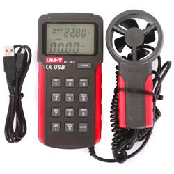 Uni-T Anemoscope CMM/CFM Wind Speed Measurement & USB Interface