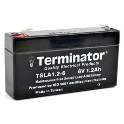 Terminator SLA Battery 6V-1.2Ah (Taiwan)