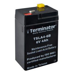 Terminator SLA Battery 6V-4Ah (Taiwan)