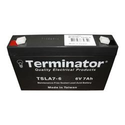 Terminator SLA Battery 6V-7Ah (Taiwan)