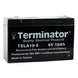 Terminator SLA Battery 6V-10Ah (Taiwan)