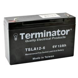 Terminator SLA Battery 6V-12Ah (Taiwan)