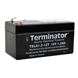Terminator SLA Battery 12V-1.2Ah (Taiwan)