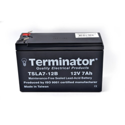 Terminator SLA Battery 12V-7Ah (Taiwan)