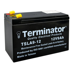 Terminator SLA Battery 12V-9Ah (Taiwan)