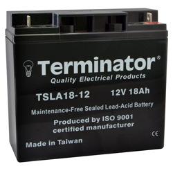 Terminator SLA Battery 12V-18Ah (Taiwan)