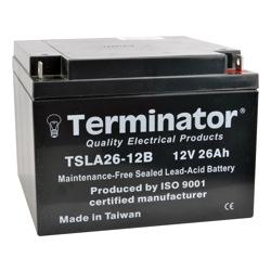 Terminator SLA Battery 12V-26Ah (Taiwan)