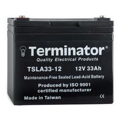 Terminator SLA Battery 12V-33Ah (Taiwan)