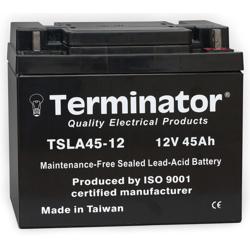 Terminator SLA Battery 12V-45Ah (Taiwan)