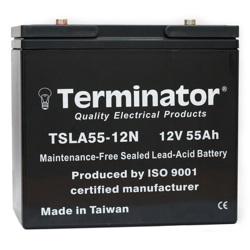 Terminator SLA Battery 12V-55Ah (Taiwan)