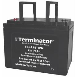 Terminator SLA Battery 12V-75Ah (Taiwan)