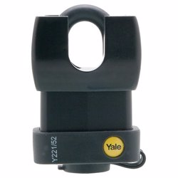 Yale Y221 Weatherproof Padlock With Closed Shackle 62 mm