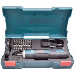 Bosch GO - Kit 10.8V Builtin Battery, Screw Driver (Plastic case + Accessories)
