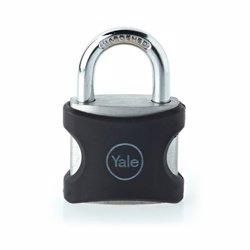 Yale YE3 Aluminium Padlock 25 mm Black preview