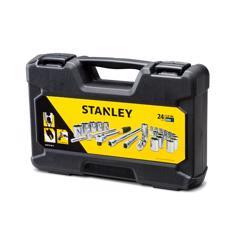 """Stanley 72-795-8 1/2"""" Dr. Socket Set - 24Pc"""