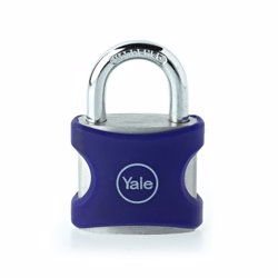 Yale YE3 Aluminium Padlock 25 mm Blue preview