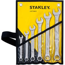 Stanley 73-648-8 6Pcs Combination Wrench Set