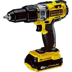 Stanley SCH20C2K 18V 2.0Ah Li-On Hammer Drill