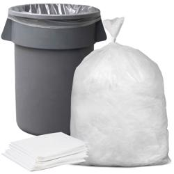 Garbage Bags Heavy Duty Recycle - 50x60cm - 20kg White